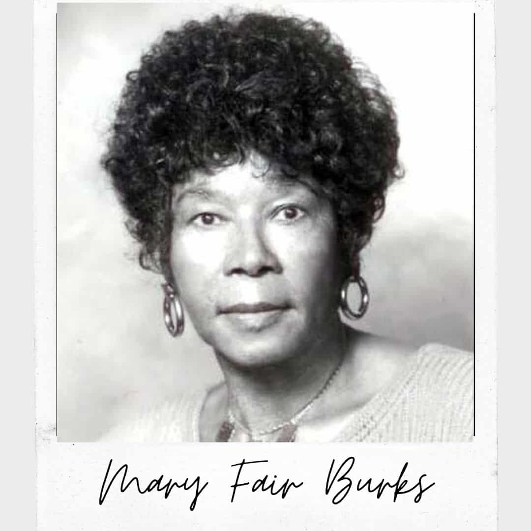 Mary Fair Burks